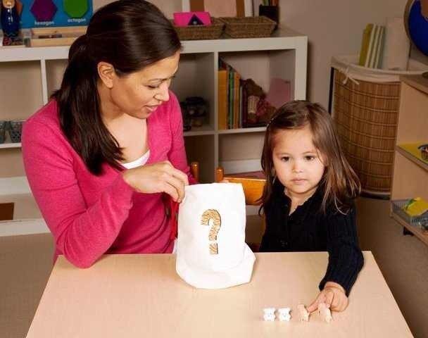 Среда для ребёнка 3-4 лет по Монтессори