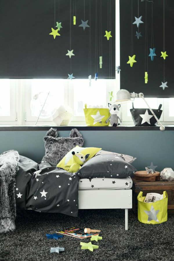 детская комната в темных оттенках