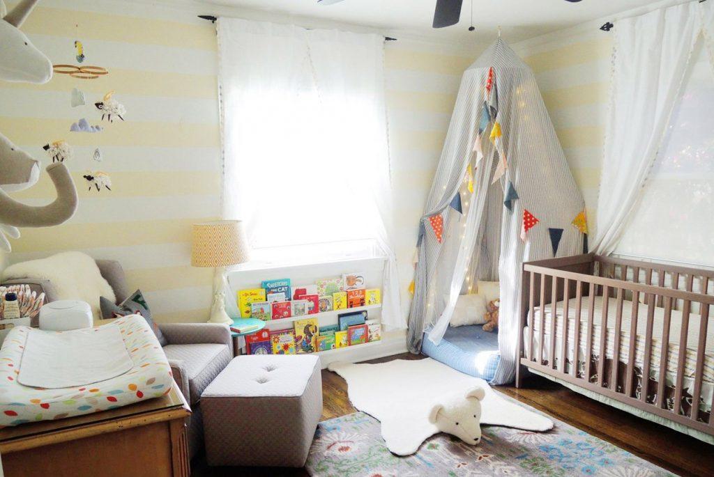 Монтессори дома: детская в стиле Страны Чудес