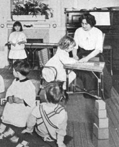 Экспериментальные детские сады 1920-х годов мыслились не как самоценность, а как способы отбора наиболее эффективных педагогических идей.