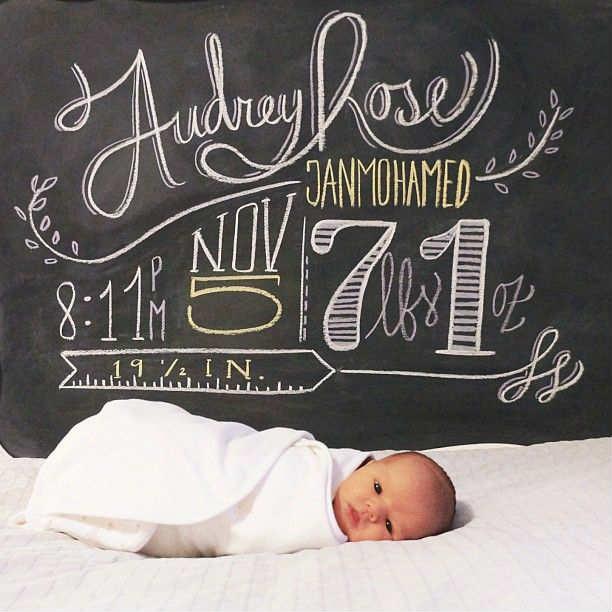 новорождённый малыш