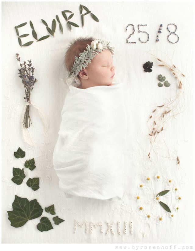 новорождённая девочка