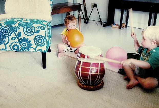 Занятия музыкой в семье