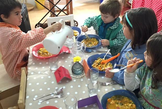 детский обед