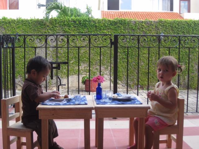 обед в Монтессори-группе