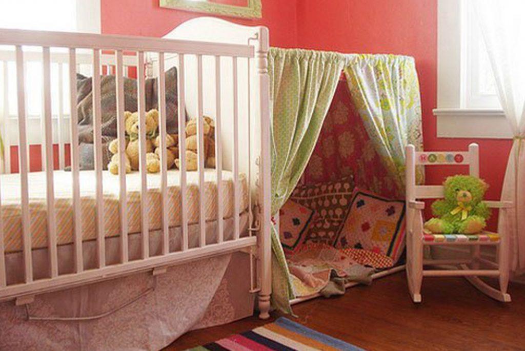 Детская комната: шторы, пологи и палатки