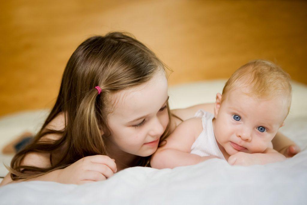 Детская ревность после рождения второго ребёнка