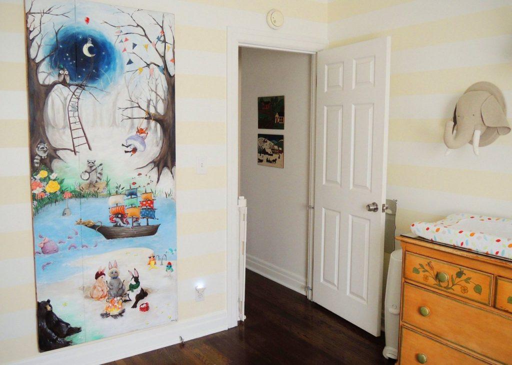 картина в детской комнате