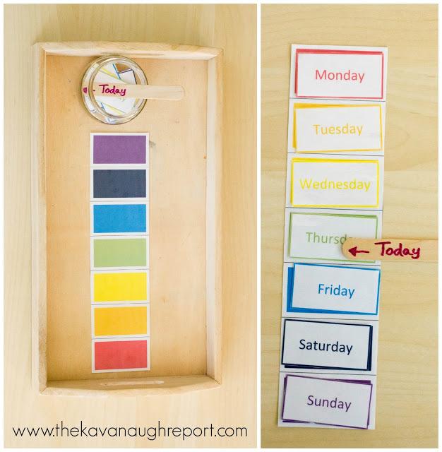 понятие времени для детей