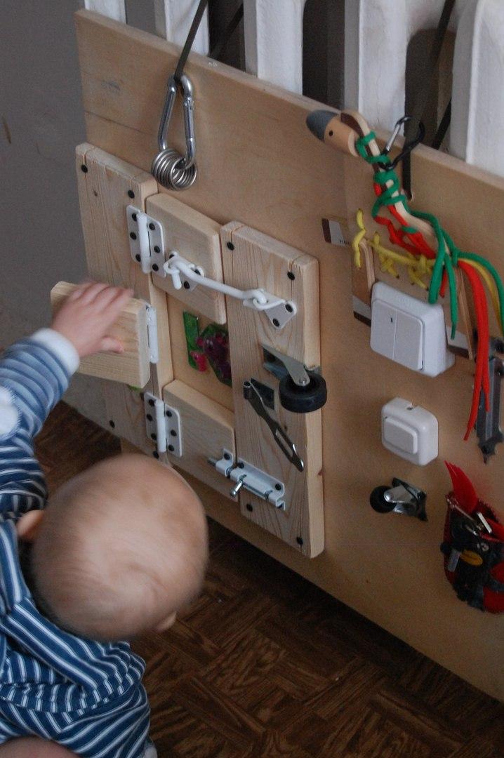 бизиборд для малыша