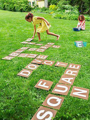 летние детские забавы