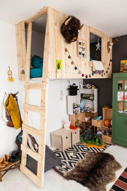 детская комната для любителей приключений