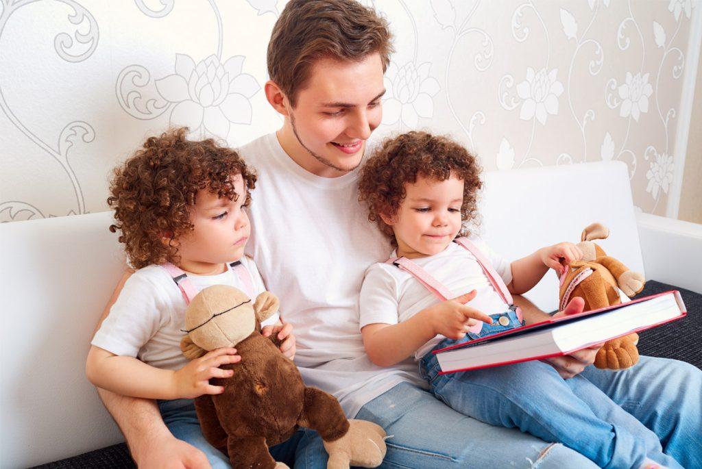 Что читать детям старше трёх лет?