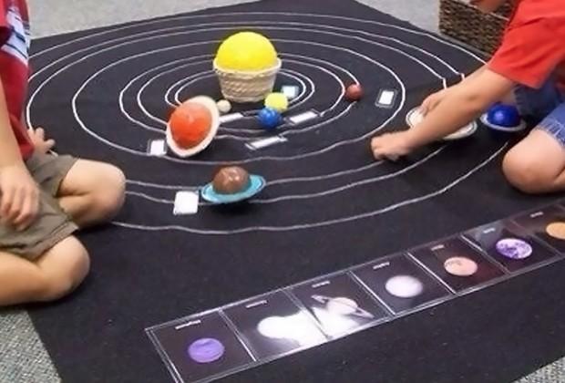 космическое воспитание детей