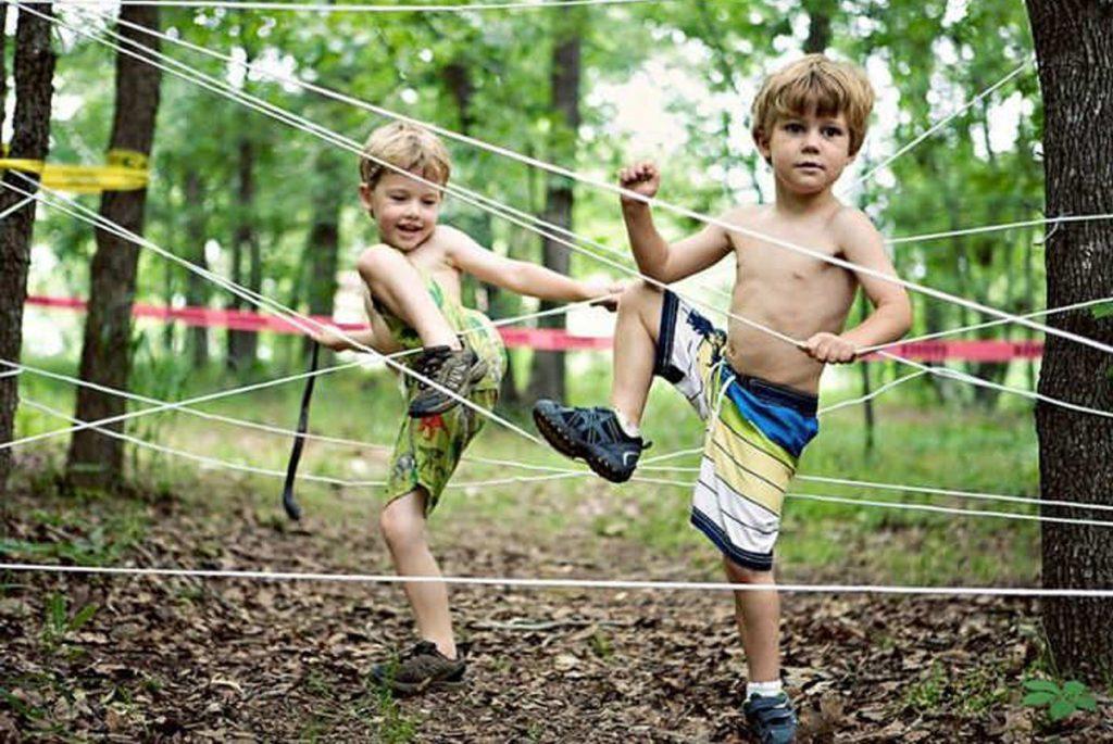 Для детей на природе своими руками
