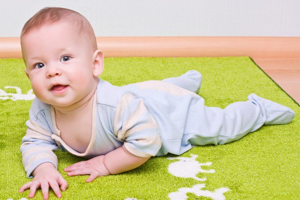 Монтессори дома: детская для малыша от 3 до 6 месяцев