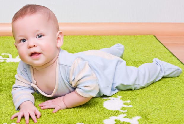 ребёнок от 3 до 6 месяцев