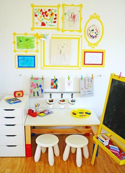 рабочее место в зоне творчества
