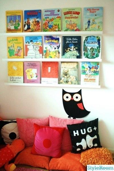 детский уголок для чтения