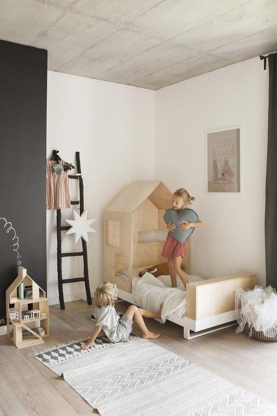 минималистичная детская комната