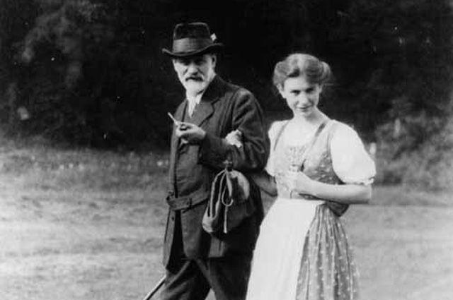 Анна и Зигмунд Фрейд