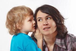 как научить малыша держать слово