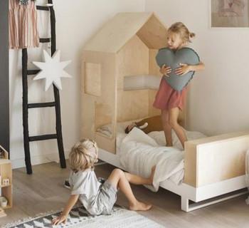 Минимализм в детской комнате
