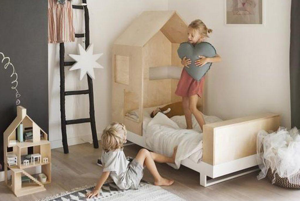 Монтессори дома: детские в стиле минимализм