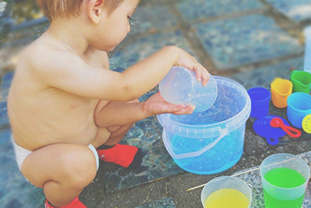 Переливания и игры с водой