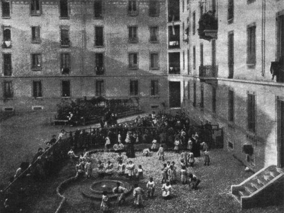 Открытие первого Casa del Bambini в 1907 г.