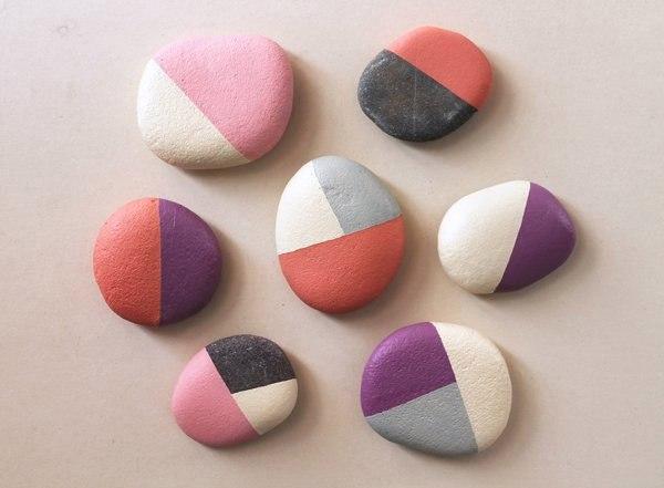 Раскрашенные камни