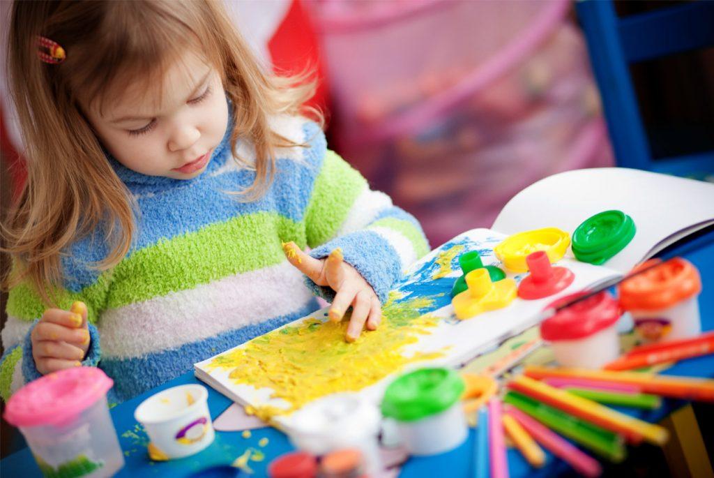 Творческая зона ребёнка по Монтессори