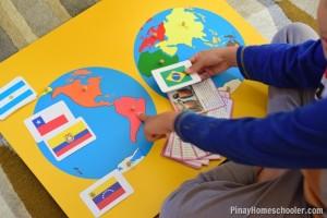 Флаги разных стран мира для изучения географии