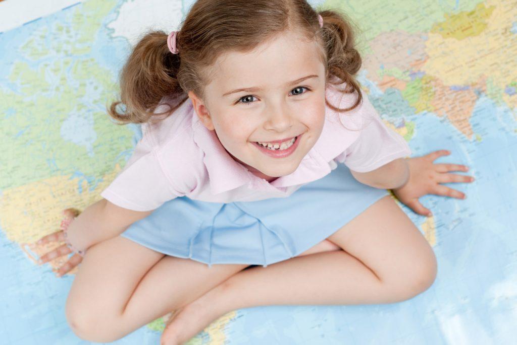 Космическое воспитание детей: введение в географию