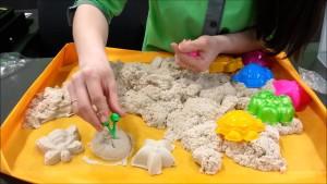 Песочница в детской комнате