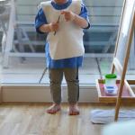 Творческая зона ребёнка до трёх лет по Монтессори