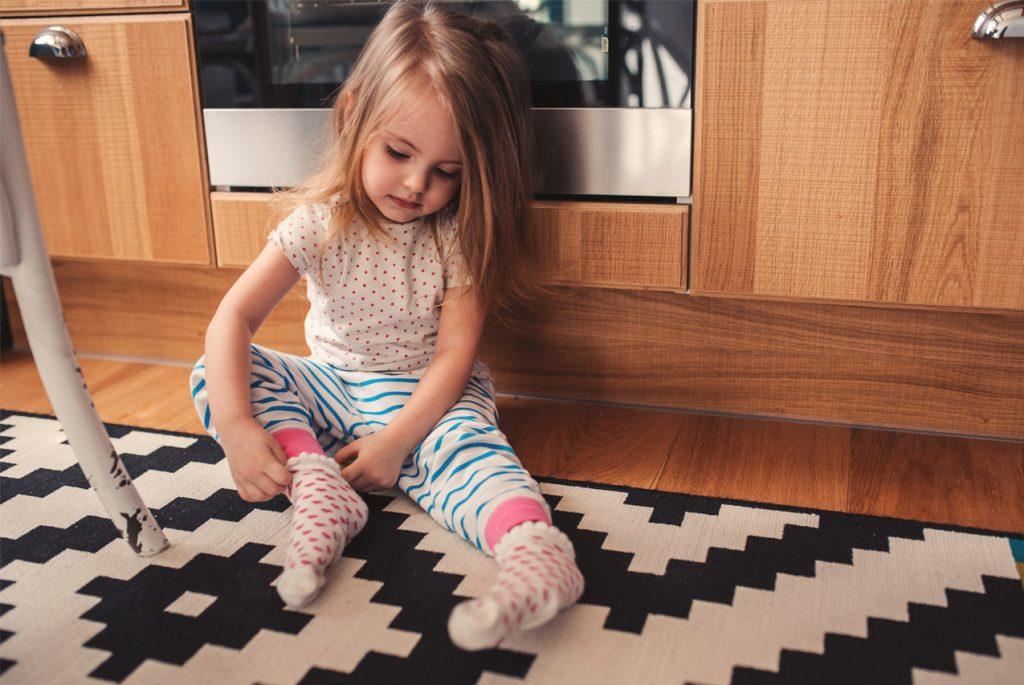 Учим ребёнка одеваться самостоятельно