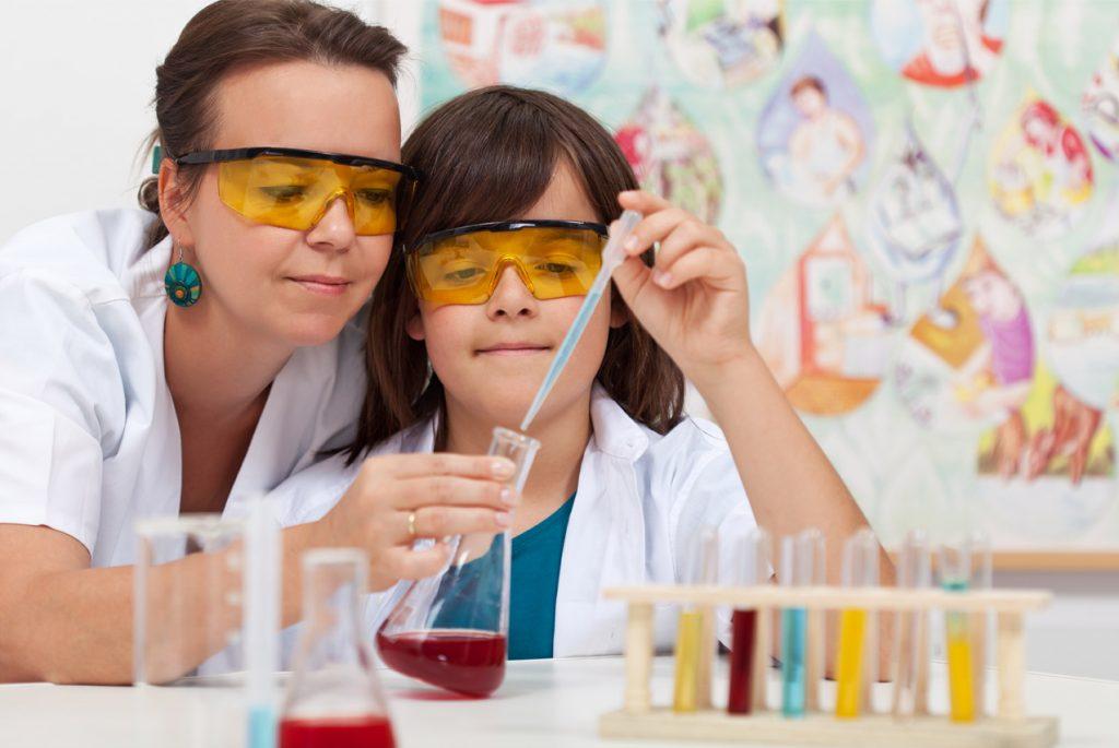 Химические и физические опыты для детей в домашних условиях