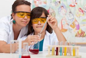 Химические опыты дома с детьми