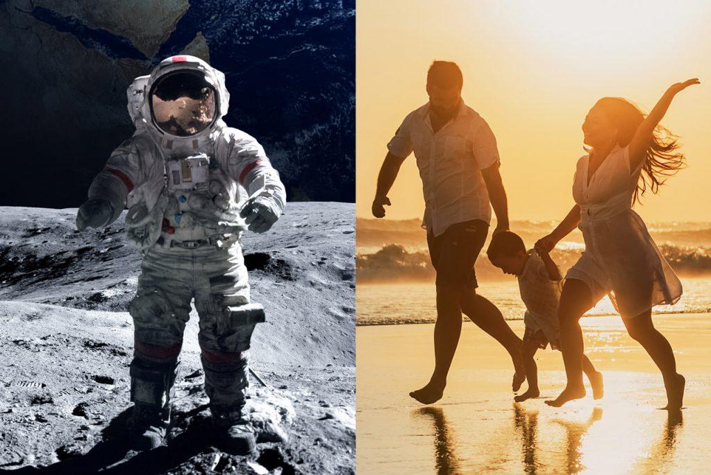 Чем похожи родители и космонавты?