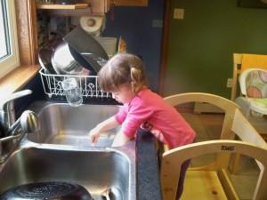 ребёнок и повседневные дела