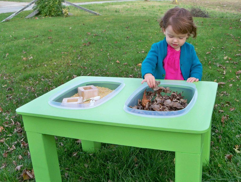 сенсорный стол для ребёнка