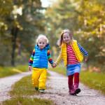 10 причин гулять с детьми в любую погоду