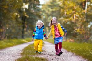 десять причин гулять с ребёнком