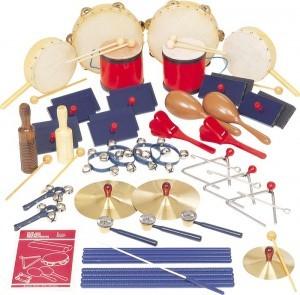 набор детских ударных инструментов