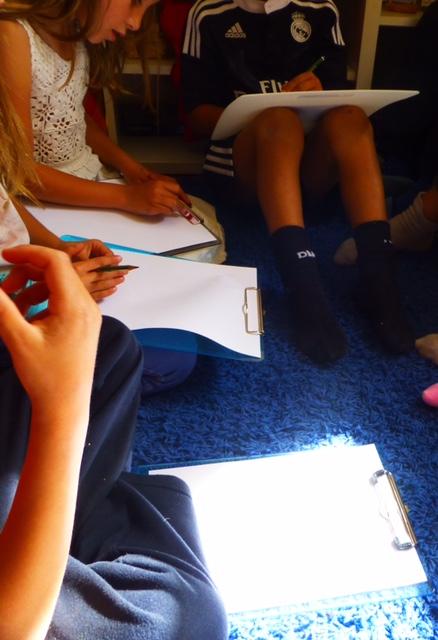 дети и экскурсии в Монтесори-школе