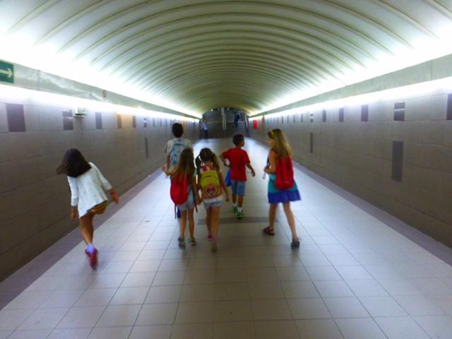 организации экскурсии в Монтессори-школе