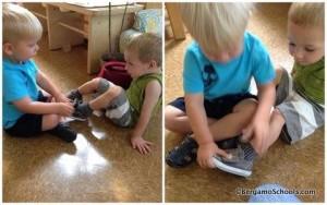 учим детей одеваться