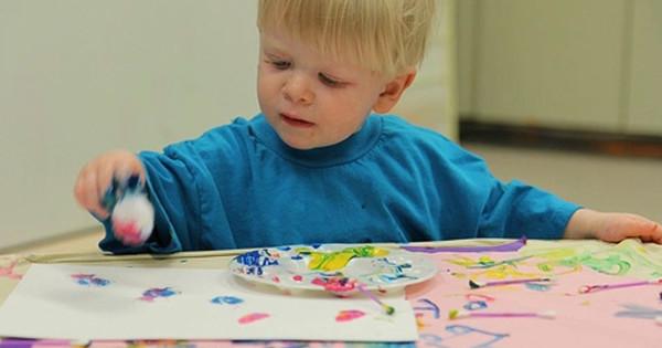 творчество с детьми до трёх лет