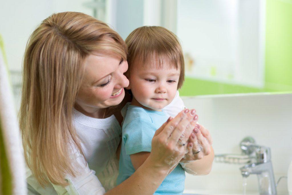 Ванная комната для ребёнка до 3 лет